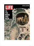 Time Life - Life Cover -To the moon and back Kunstdrucke
