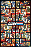 GI Joe Cast Prints