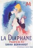 La Diaphane Impressão colecionável por Jules Chéret