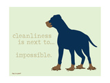 Cleanliness Giclée-Premiumdruck von  Dog is Good