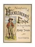 Huck Finn, 1885 Giclee Print by Edward Windsor Kemble