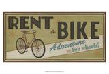 Bike Shop II Poster von Erica J. Vess