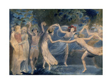 Fairies, C. 1786 Lámina giclée por William Blake