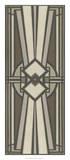 Neutral Deco Panel I Giclée-Druck von Erica J. Vess