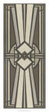 Neutral Deco Panel I Gicléedruk van Erica J. Vess
