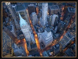 Vista aérea da Wall Street Arte por Cameron Davidson