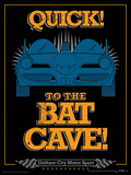 Batman - To The Bat Cave Poster Stampa master