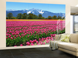 Tulips Wall Mural Mural de papel de parede