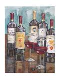 Dégustation de vin II Reproduction giclée Premium par Heather A. French-Roussia