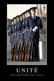 United We Stand: Citation Et Affiche D'Inspiration Et Motivation Fotografie-Druck