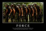 Force: Citation Et Affiche D'Inspiration Et Motivation Fotografie-Druck