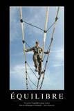 Équilibre: Citation Et Affiche D'Inspiration Et Motivation Stampa fotografica