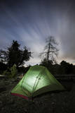 Camping under the Clouds and Stars in Cleveland National Forest, California Fotografisk trykk