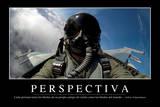 Perspectiva. Cita Inspiradora Y Póster Motivacional Stampa fotografica