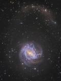 Messier 83 and its Northern Stellar Tidal Stream Fotografisk trykk