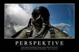 Perspektive: Motivationsposter Mit Inspirierendem Zitat Stampa fotografica