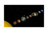 Planets of the Solar System Art