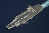 The Aircraft Carrier USS Dwight D. Eisenhower Fotoprint