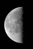 Last Quarter Waning Moon Fotografie-Druck