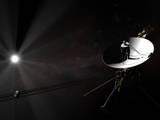 Voyager 1 Leaving the Solar System Fotografie-Druck
