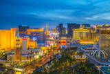 The Strip, Las Vegas, Nevada, United States of America, North America Fotoprint av Alan Copson