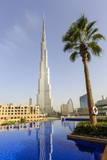 Burj Khalifa, Dubai, United Arab Emirates, Middle East Fotografisk tryk af Amanda Hall