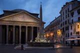 The Pantheon, Rome, Lazio, Italy, Europe Lámina fotográfica por Ben Pipe