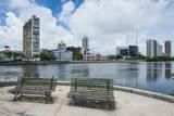 Historicla Waterfront of Recife, Pernambuco, Brazil, South America Fotografisk trykk av Michael Runkel
