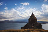 Sevanavank Monastery, Lake Seven, Armenia, Central Asia, Asia Photographic Print by Jane Sweeney