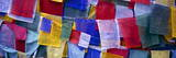 Prayer Flags, Tashiding, Sikkim, Northern India, India, Asia Photographic Print by Simon Montgomery