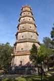 Thien Mu Pagoda, Hue, Vietnam, Indochina, Southeast Asia, Asia Photographic Print by Bruno Morandi