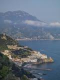 Amalfi Peninsula, Amalfi Coast, UNESCO World Heritage Site, Campania, Italy, Mediterranean, Europe Impressão em tela esticada por Angelo Cavalli