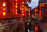 City of Lijiang, UNESCO World Heritage Site, Yunnan, China, Asia Photographic Print by Bruno Morandi
