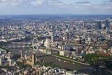 Aerial View of the Houses of Parliament Reproduction photographique par Peter Barritt