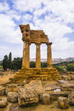 Temple of Castor and Pollux Photographic Print by Matthew Williams-Ellis