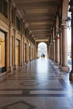 Colonnades Along Via Roma, Turin, Piedmont, Italy, Europe Photographic Print by Mark Sunderland