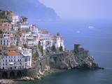 Amalfi Coast, UNESCO World Heritage Site, Campania, Italy, Mediterranean, Europe Impressão fotográfica por Rolf Richardson