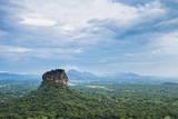 Sigiriya Rock Fortress, UNESCO World Heritage Site, Seen from Pidurangala Rock, Sri Lanka, Asia Photographic Print by Matthew Williams-Ellis