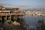 Monterey Docks and Fisherman's Wharf Restaurants Reproduction photographique par Stuart Black