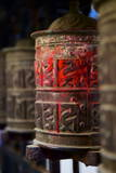 Prayer Wheels, Kathmandu, Nepal, Asia Photographic Print by Simon Montgomery