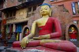 Buddha Statue Photographic Print by Simon Montgomery