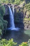 Rainbow Falls, Hilo, Hawaii Island (Big Island), Hawaii, United States of America, Pacific Fotografisk trykk av Rolf Richardson
