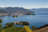 View over Isola Bella, Borromean Islands, Lake Maggiore, Italian Lakes, Piedmont, Italy, Europe Photographic Print by Yadid Levy