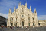Piazza Del Duomo, Milan, Lombardy, Italy, Europe Photographic Print by Chris Hepburn