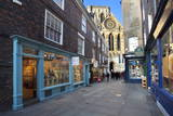 York Minster from Minster Gate, York, Yorkshire, England, United Kingdom, Europe Photographic Print by Mark Sunderland
