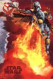 Star Wars - Boba Fett blast Kunstdrucke