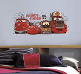 Cars 2 - Friends to the Finish Peel and Stick Giant Wall Decals Autocollant mural