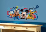 Mickey & Friends - Mickey Mouse Clubhouse Capers Peel and Stick Giant Wall Decals Autocollant mural