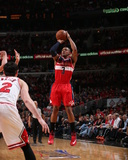 2014 NBA Playoffs Game 5: Apr 29, Washington Wizards vs Chicago Bulls - Bradley Beal Photographie par Gary Dineen
