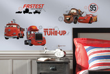 Cars - Friends to the Finish Peel and Stick Wall Decals Muursticker